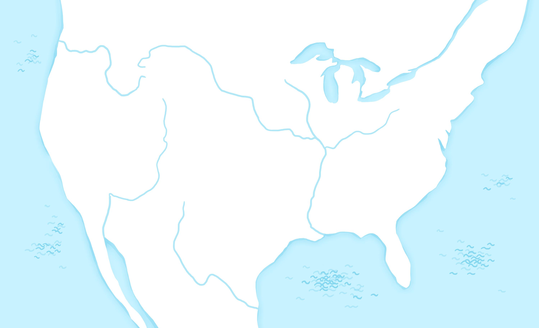 Carte Amerique Interactive.La Conquete De L Ouest Americain Carte Interactive